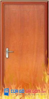 [Báo Giá] Cửa Gỗ Chống Cháy & Cửa Thép Chống Cháy